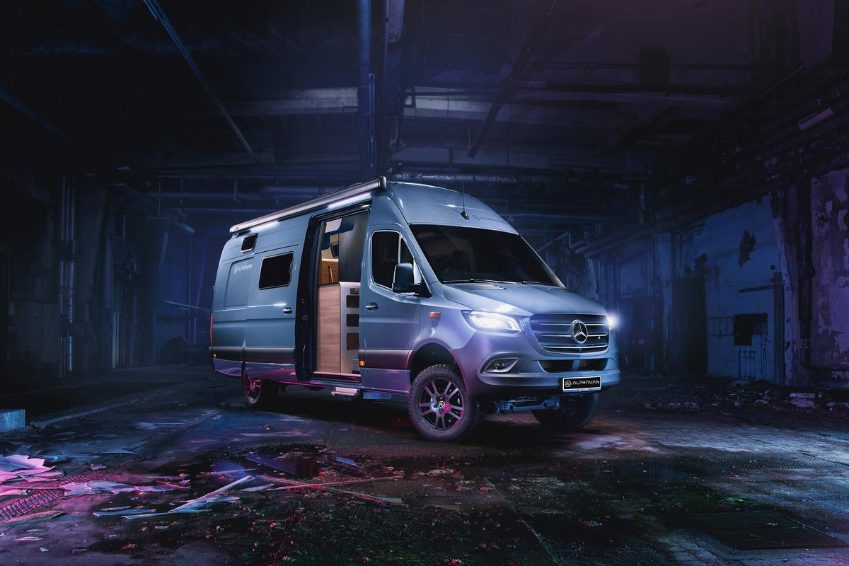 Alphavan previews its new 4x4 Edition ahead of its world premiere in August