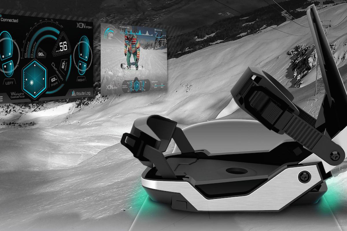 XON Snow-1 snowboard bindings provide users with feedback on their performance