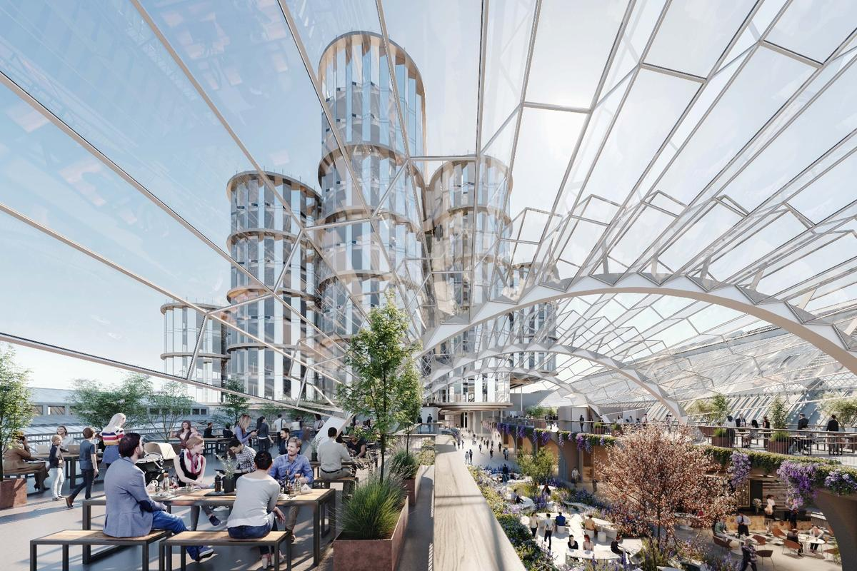 Heatherwick Studio recently received planning permissionfor the Olympia London projectand construction is expected to begin in 2020