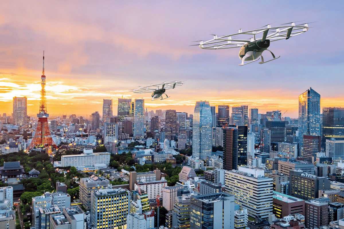 Volocopter has revealed plans to put its air taxis into commercial service in Japan through a partnership with Japan Airlines