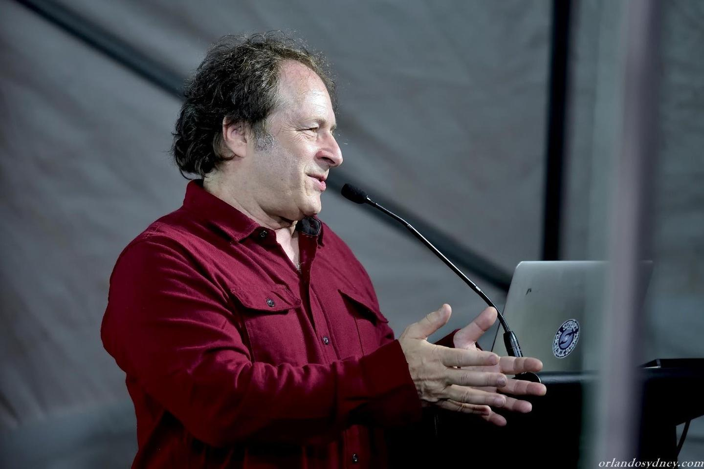 Rick Doblin presenting his pioneering research at the Entheogenesis Australis Psychedelic Symposiumin late 2017