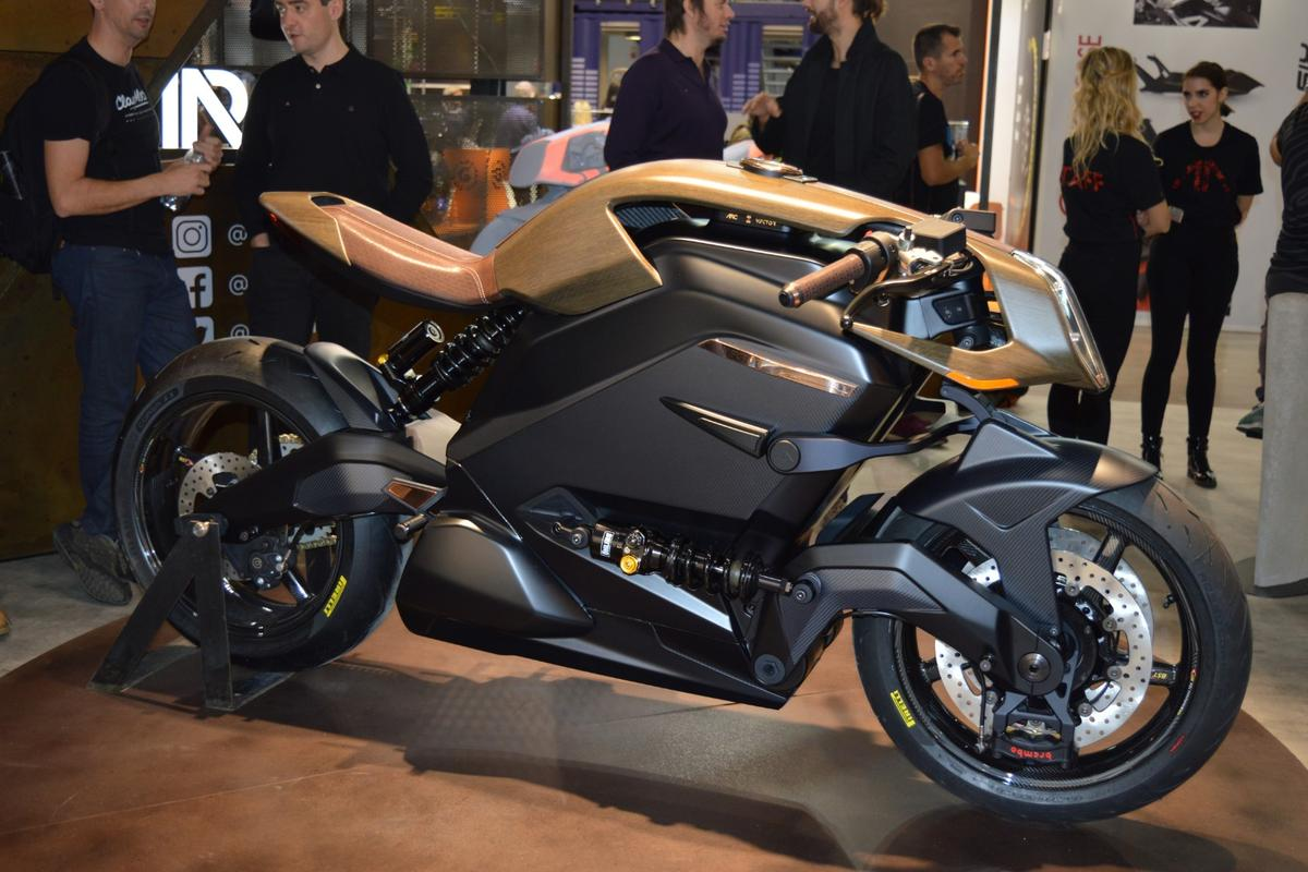 The Arc Vector: here's what US$117,000 gets you in state-of-the-art electric motorcycling