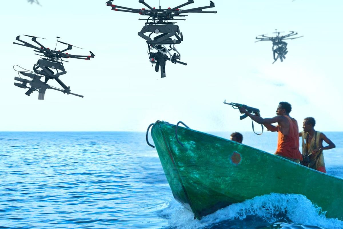 Drones with guns are coming