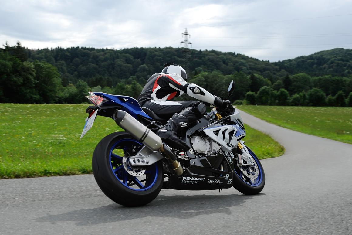 BMW's HP4 is the first supersports bike to feature cornering ABS