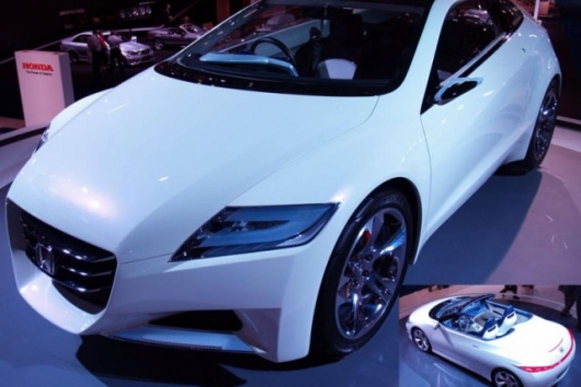 Honda's low-emission roadster design study
