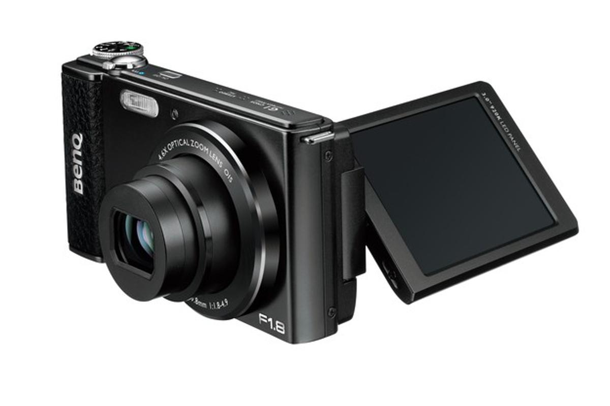 "The BenQ G1 is being billed as ""the world's slimmest F1.8 swivel-screen digital camera"""
