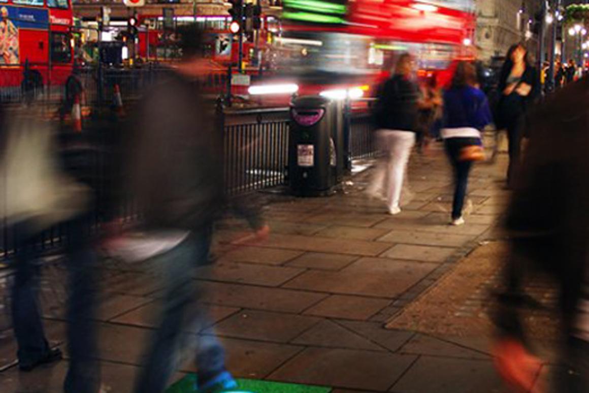 Pavegen tiles harvest kinetic energy from pedestrian traffic