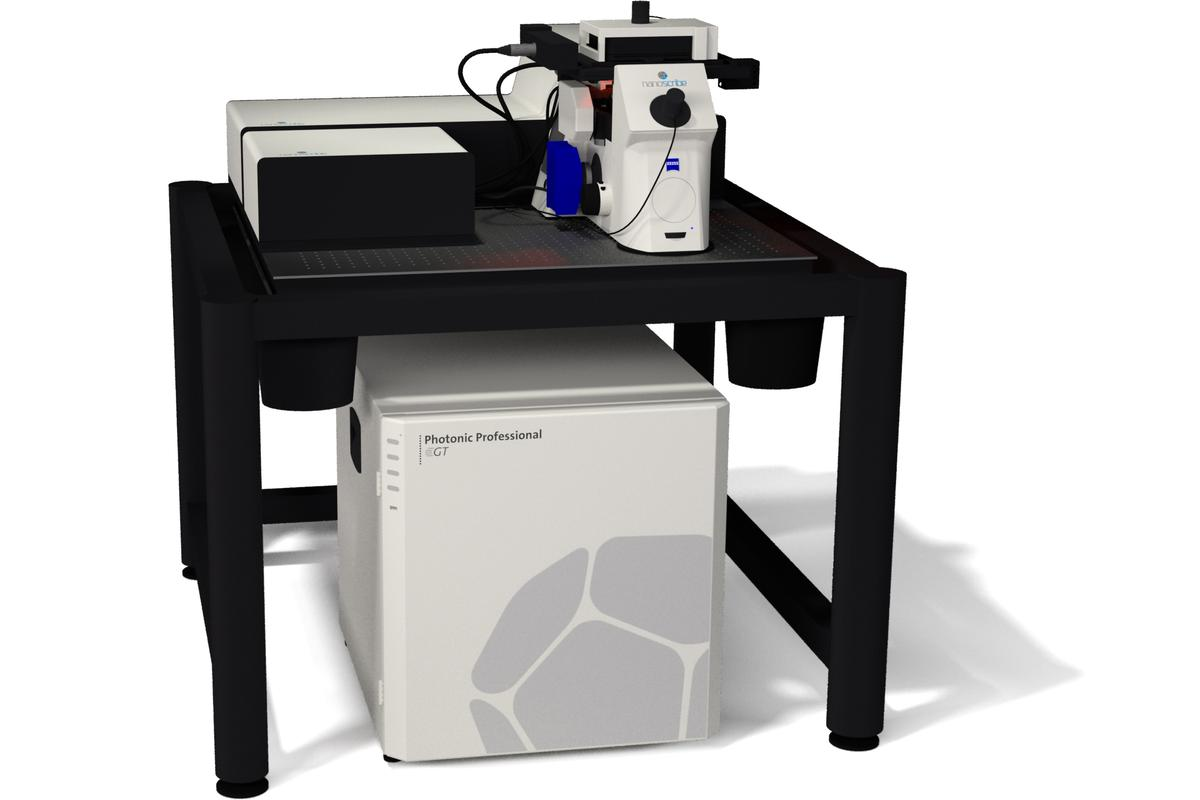 The Photonic Professional GT - the world's fastest commercially available 3D printer for micro- and nanostructures (Photo: Nanoscribe)