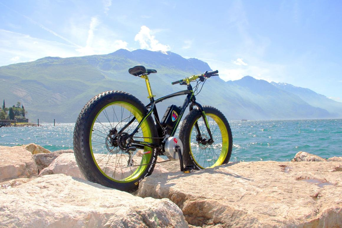 The Bikee Best is an aftermarket electrification kit for existing bikes