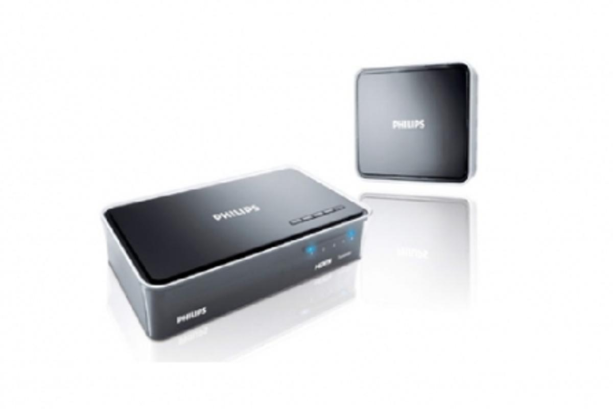 The Philips Wireless HDTV Link replaces cables for wireless viewing up to 1080p