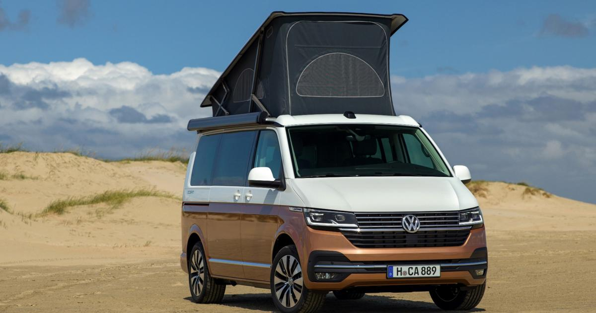 Reinvigorated VW California camper van puts more tech and comfort at nomads' fingertips
