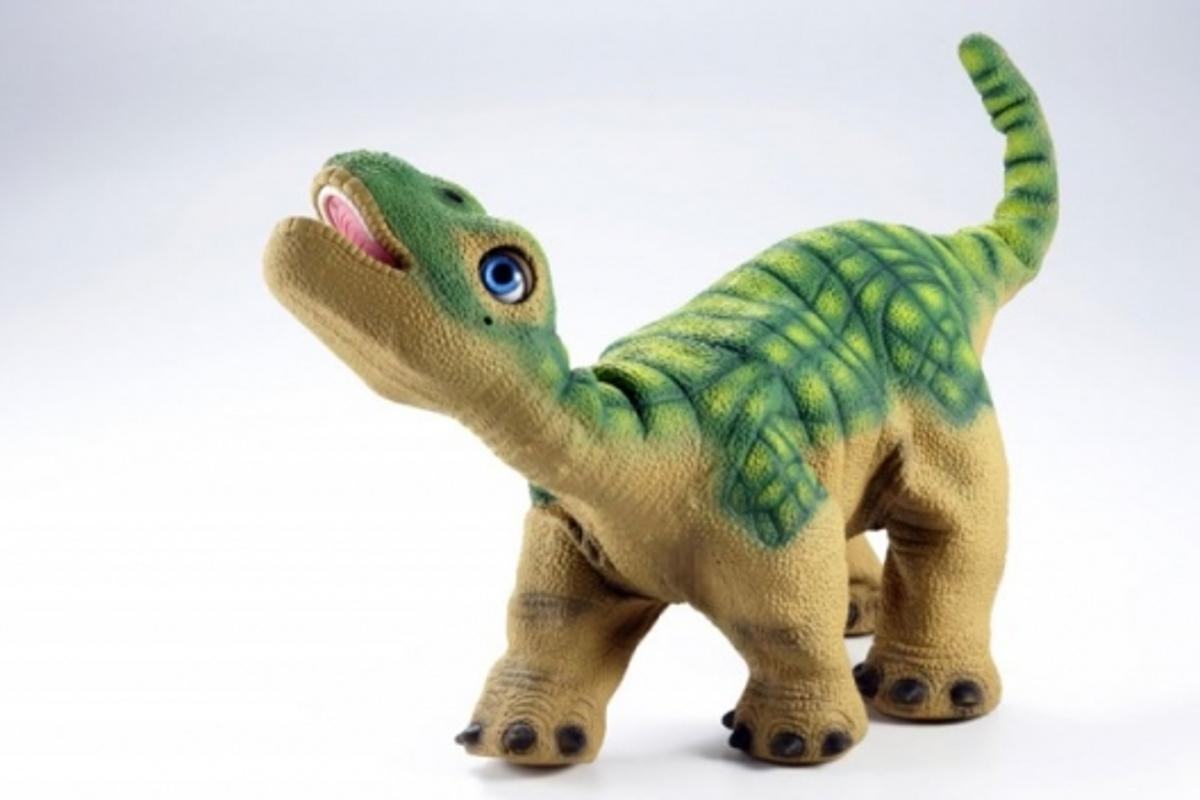 Pleo the puppy-sized robot dinosaur
