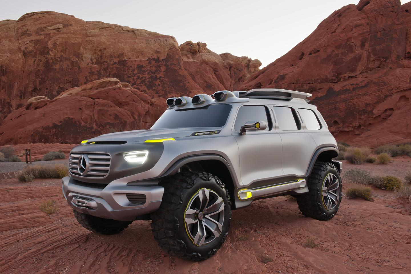 The Mercedes-Benz Ener-G-Force concept design