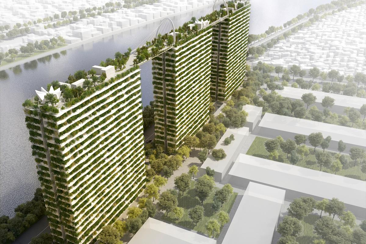 Diamond Lotus would offer wealthy Ho Chi Minh City residents a leafy refuge from the sun and smog