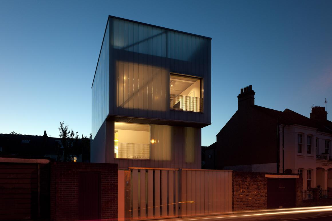 Slip House, by Carl Turner Architects