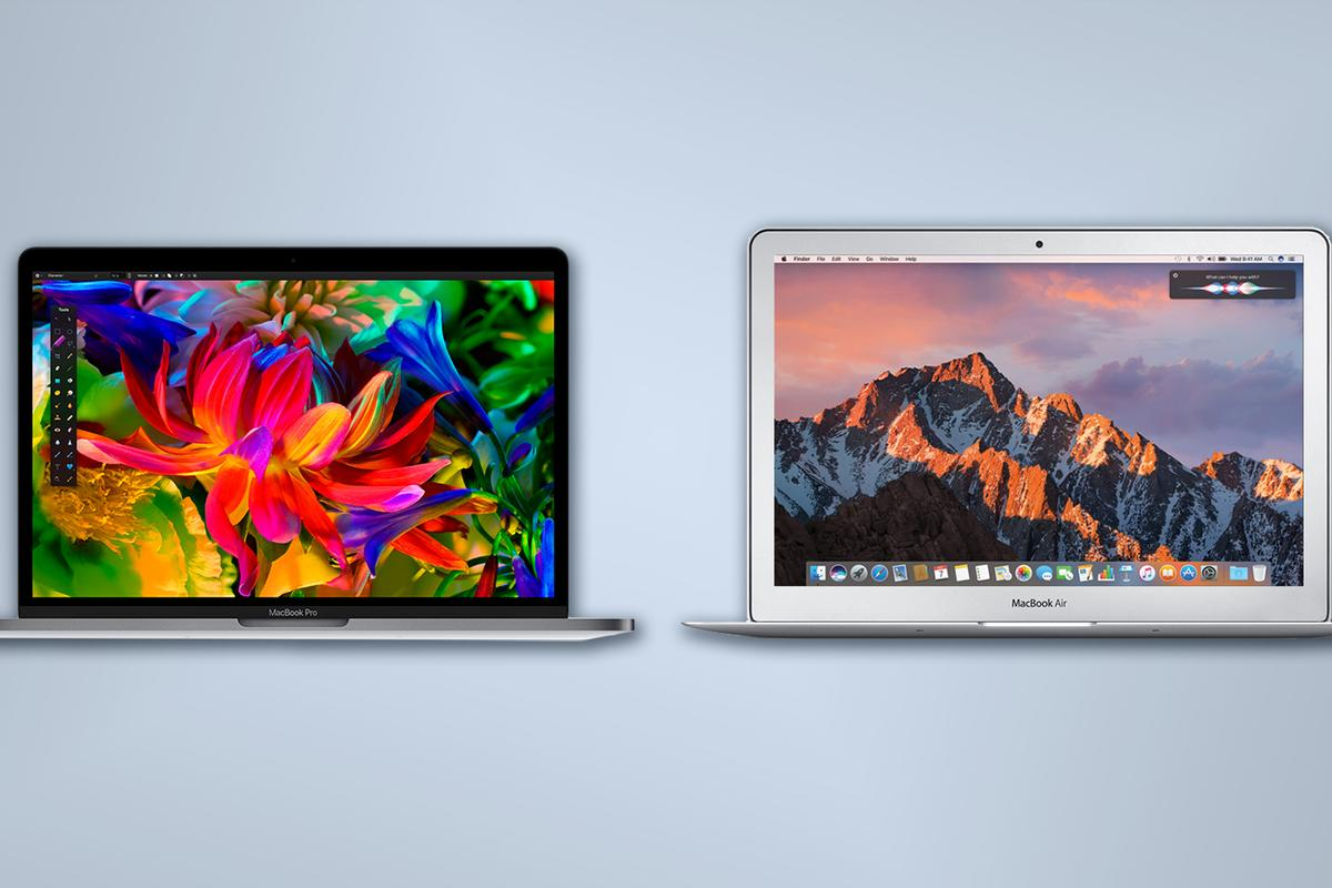 New Atlas compares Apple laptops: The 2016 13-inch MacBook Pros and the 13-inch MacBook Air