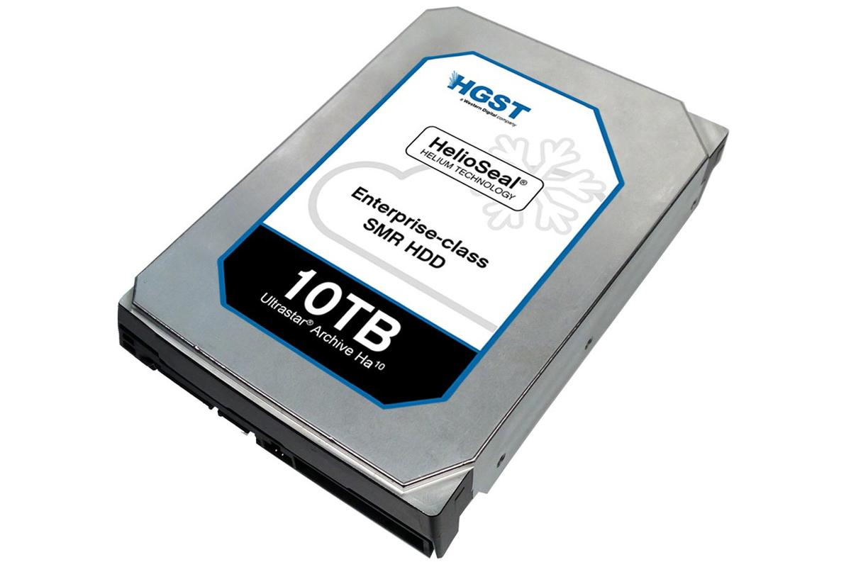 HGST's Ultrastar Archive Ha10 is aimed at enterprise users