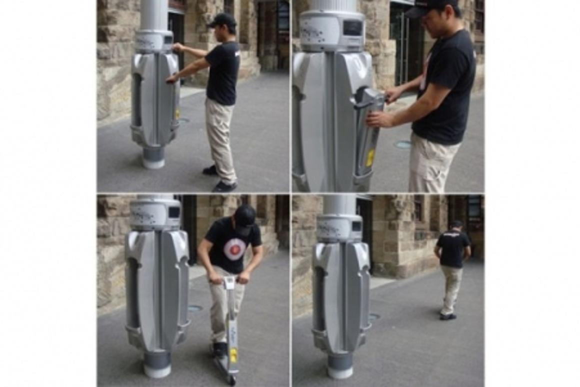 Anton Grimes' Link scooter system