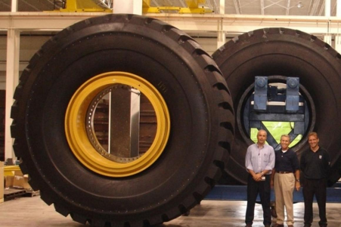The world's biggest production tire – the 63-inch Titan