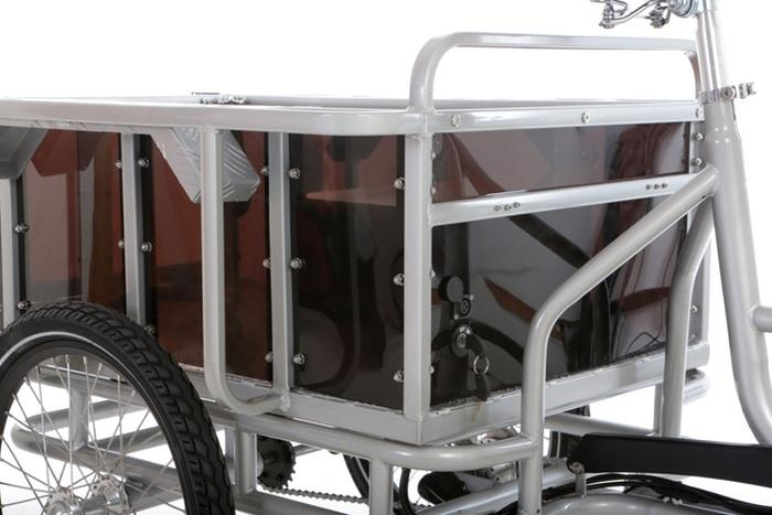 The movE electric cargo bike is a product of seven years of development from Sanitov Studio, a London-based design studio
