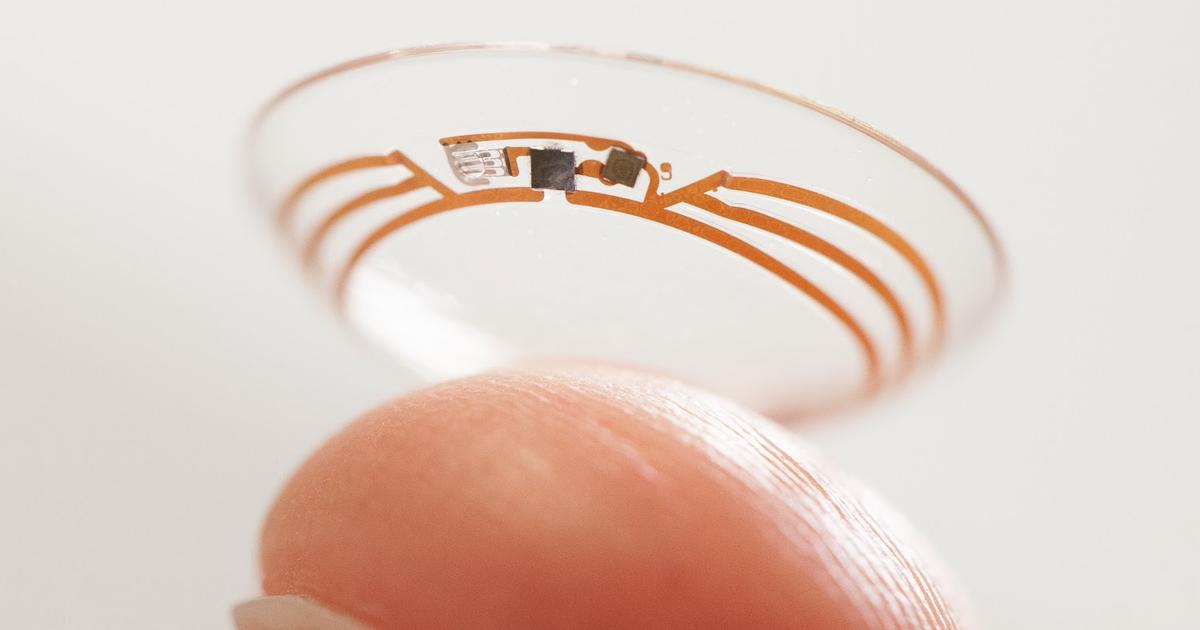 Smart contacts: The future of the wearable you won't even see