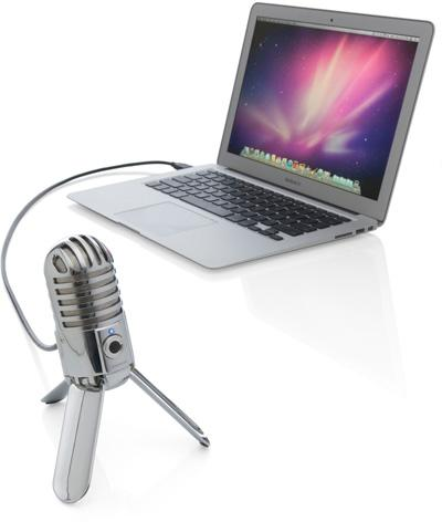 Samson's Meteor Mic with a MacBook Air