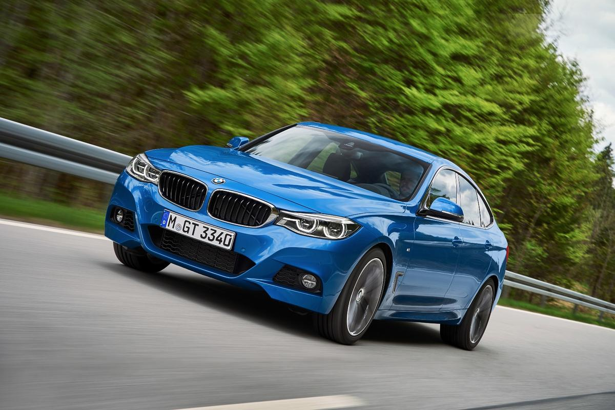BMW has applied the update brush to its 3 Series Gran Turismo