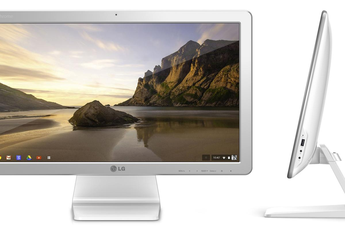 LG's Chromebase is the world's first all-in-one PC powered by Google's Chrome OS