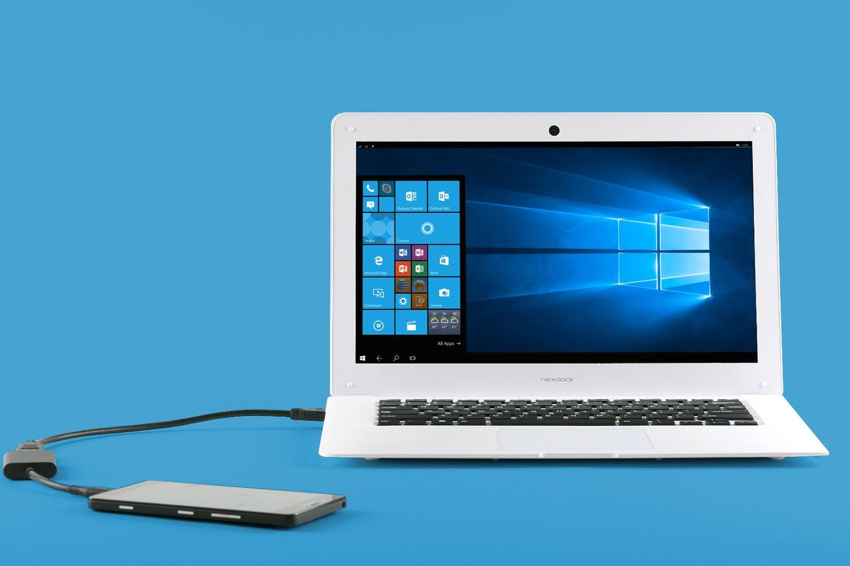 The NexDock is a budget device that adds a 14-inch screen, a Bluetooth keyboard and a capable battery to smartphones, tablets, and PC sticks