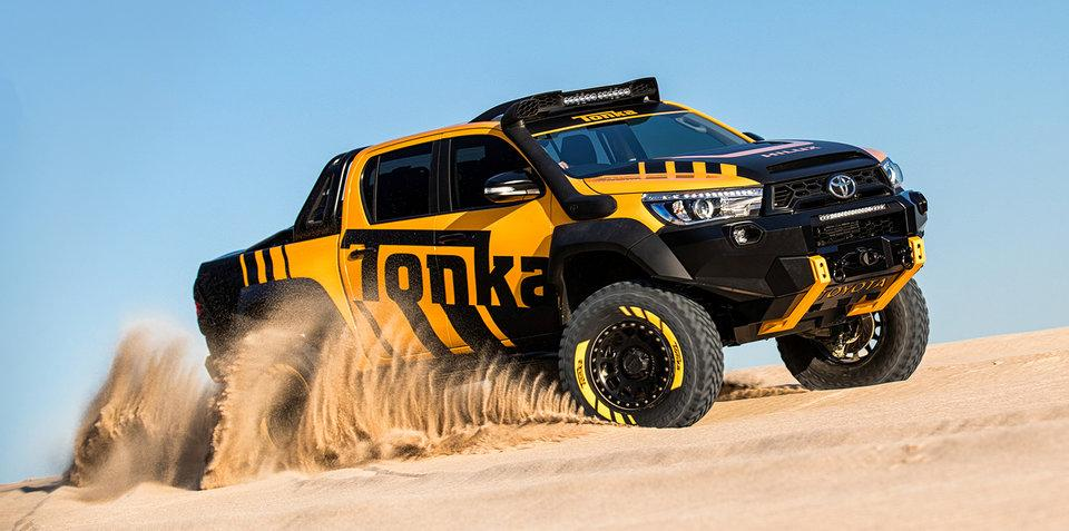 Toyota's HiLux Tonka Concept – it ain't no toy