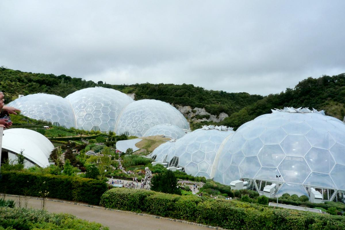 Eden Project impressive Biomes(Image by COMAS)