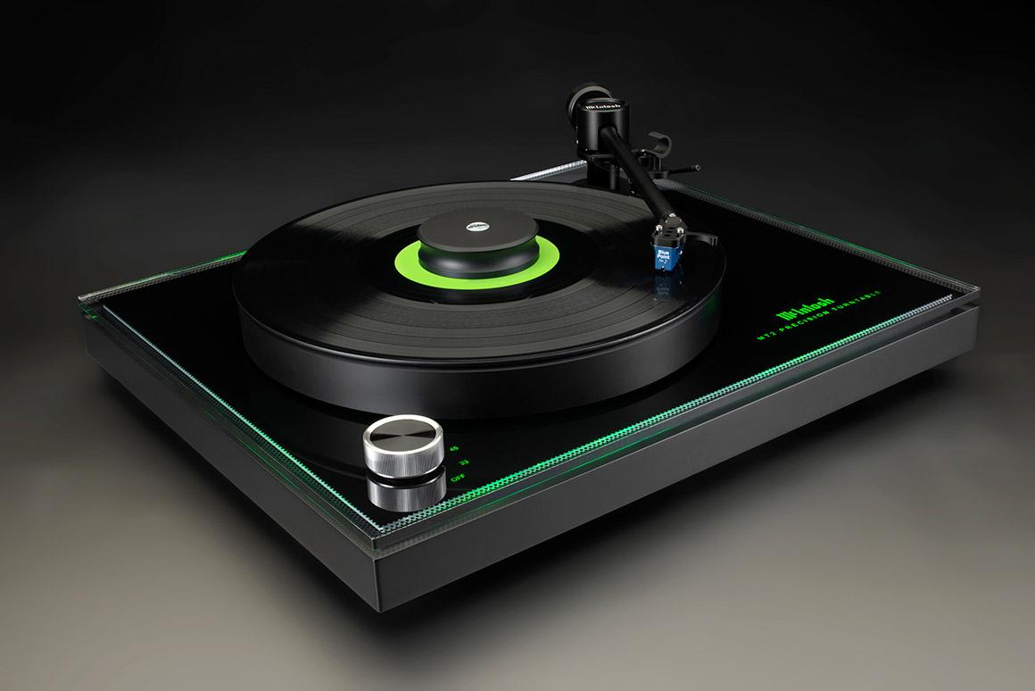 The McIntosh MT2 Precision Turntable will be available from April, 2018, for a suggested retail price of $4,000