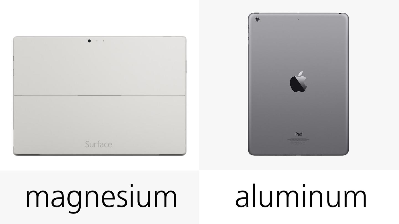 Microsoft Surface Pro 3 vs  iPad Air