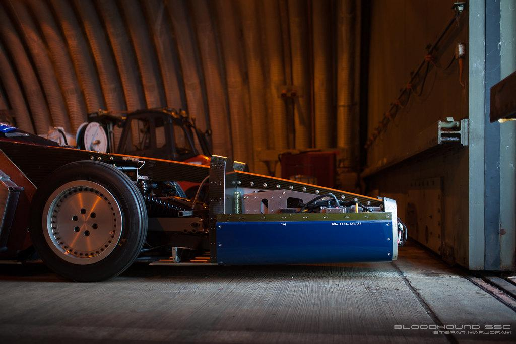 This first public test run for the Bloodhound easily reached a speed over 200 mph and the team hope to cross the 1000 mph threshold in 2020