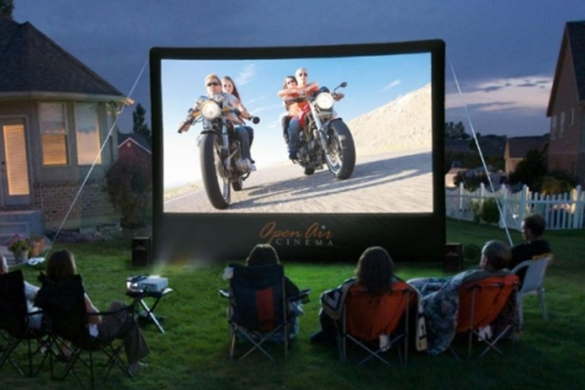 Open Air Cinema's 16-Foot Inflatable Movie Screen