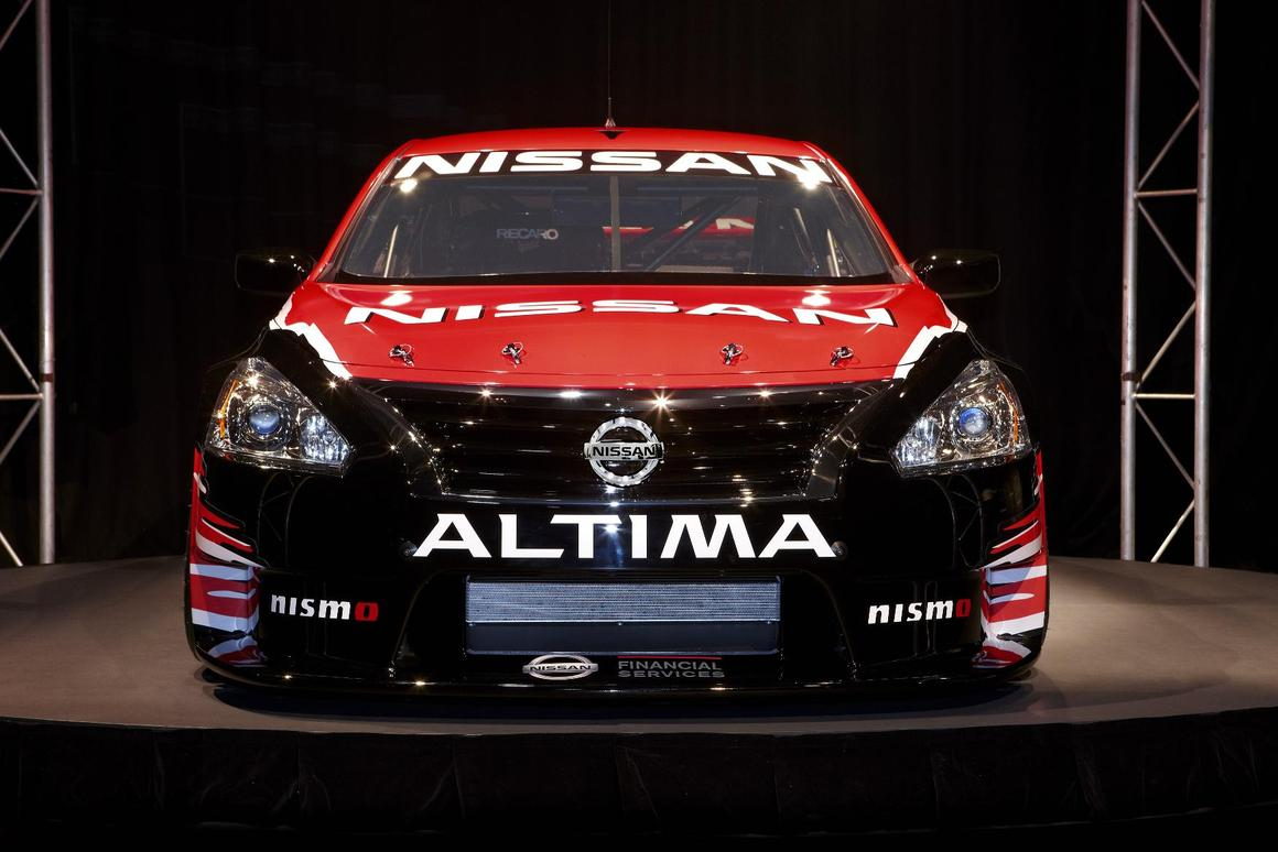 The Nissan Altima gets a V8 and goes supercar