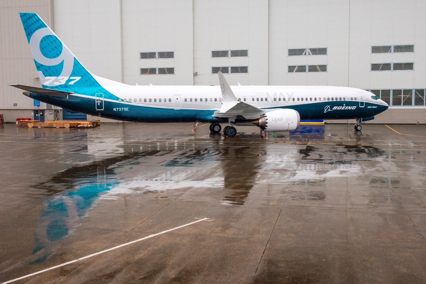 The Boeing 737 MAX 9 has a maximum capacity of 220 passengers