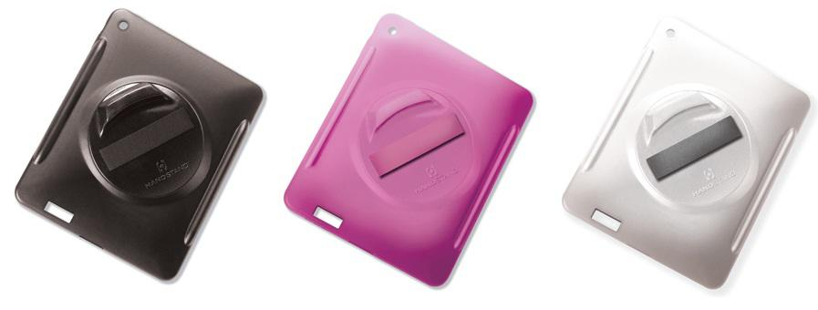 HandStand for iPad comes in black, pink or white