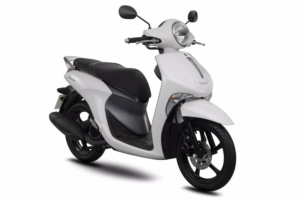 Yamaha's Janus 125cc scooter for the Vietnamese market: the first motorcycle with automatic start/stop fuel saving technology