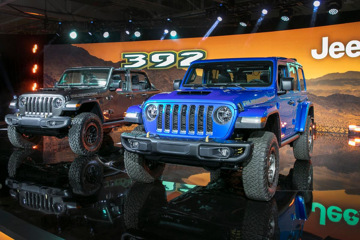 Jeep has announced that the 2021 Jeep Wrangler Rubicon 392 will enter production as a model offering in the Wrangler lineup