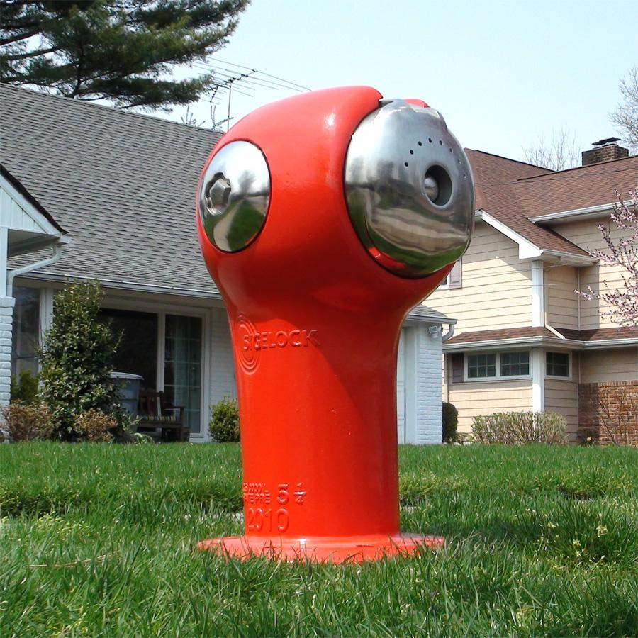 The Sigelock Spartan fire hydrant is the first design to challenge the traditional system in over 100 years