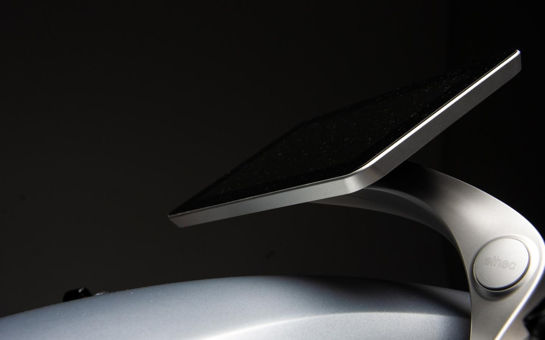 Ethec electric motorcycle: 7-inch dash screen