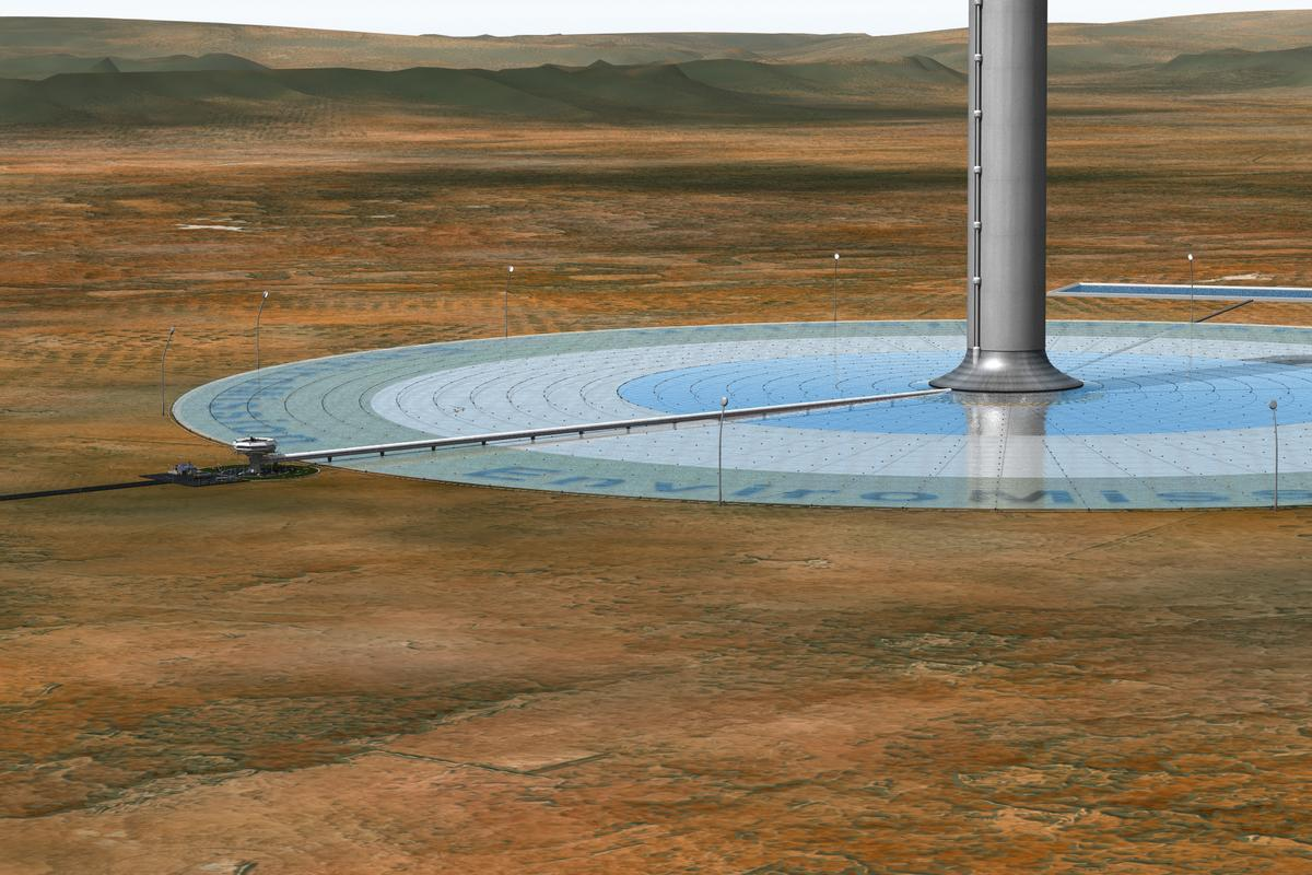 EnviroMission's solar tower: coming to Arizona in 2015