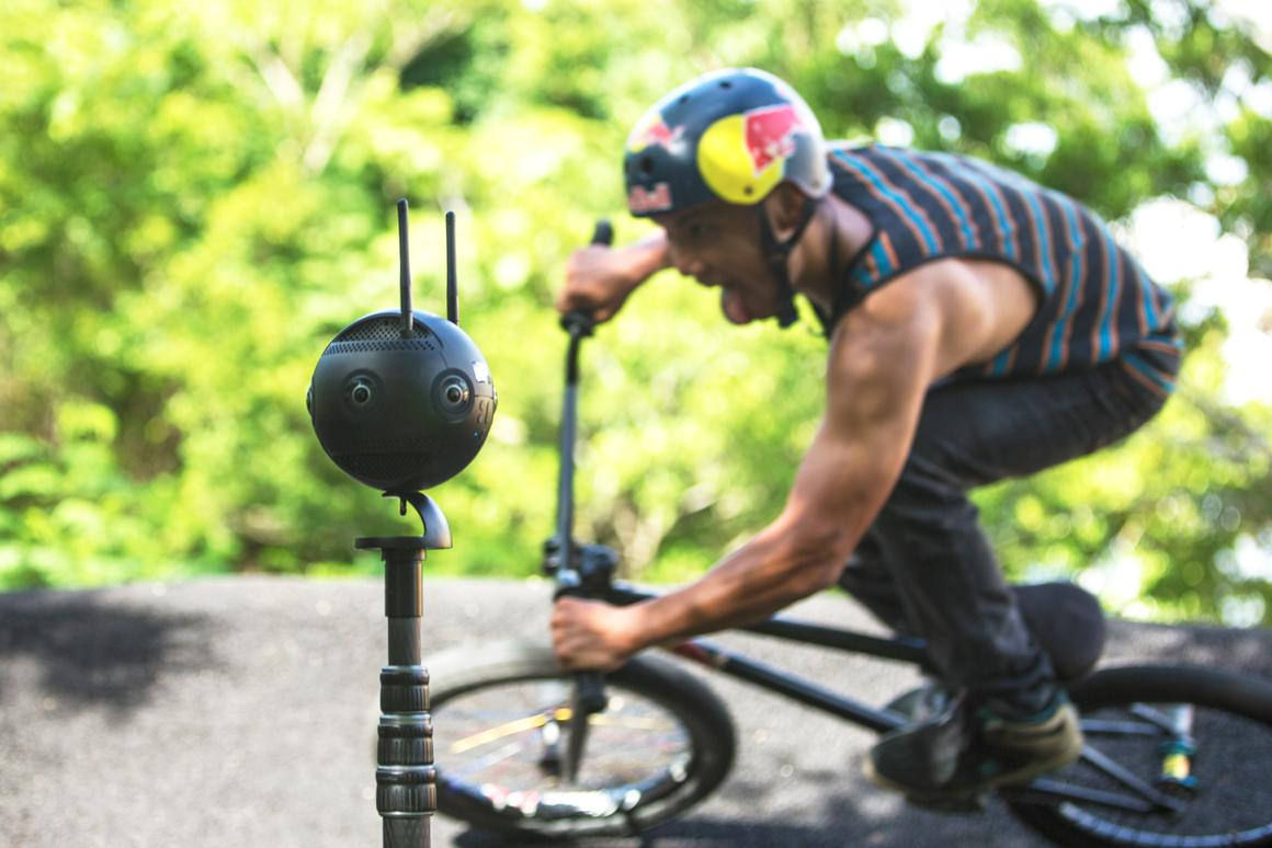 360-degree cameras can capture extraordinary vision that's impossible to do with a live cameraman