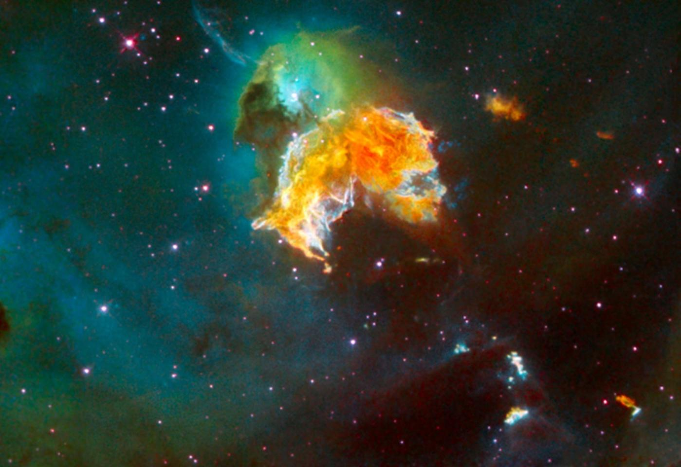 Radiation from nearby supernovae may have been intense enough to affect life on Earth
