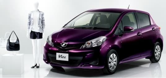 """Toyota's F """"Ciel"""" Vitz is one of the models using Asahi's new tempered glass, that offers 99 percent UV protection and IR filtration"""