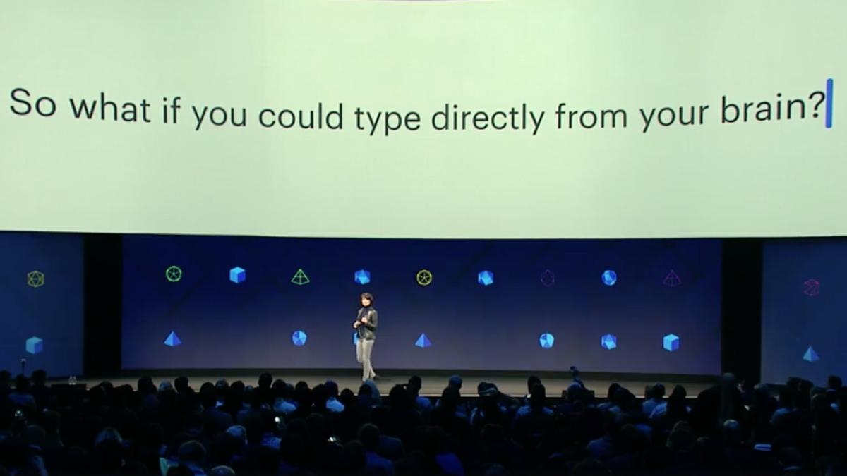 Facebook VP of Engineering and Building 8 Head Regina Dugan discussed some of the network's most ambitious research in silent communication