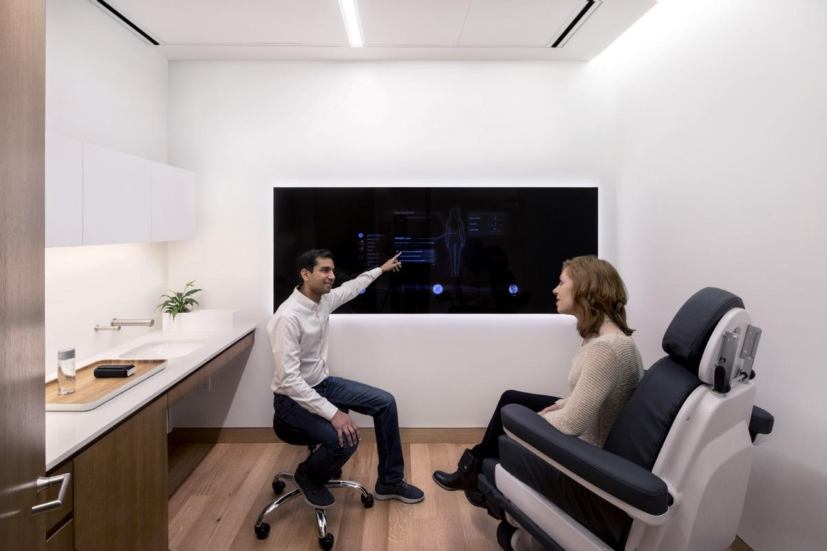 Healthcare startup Forward has launched its first futuristic medical clinic in San Francisco