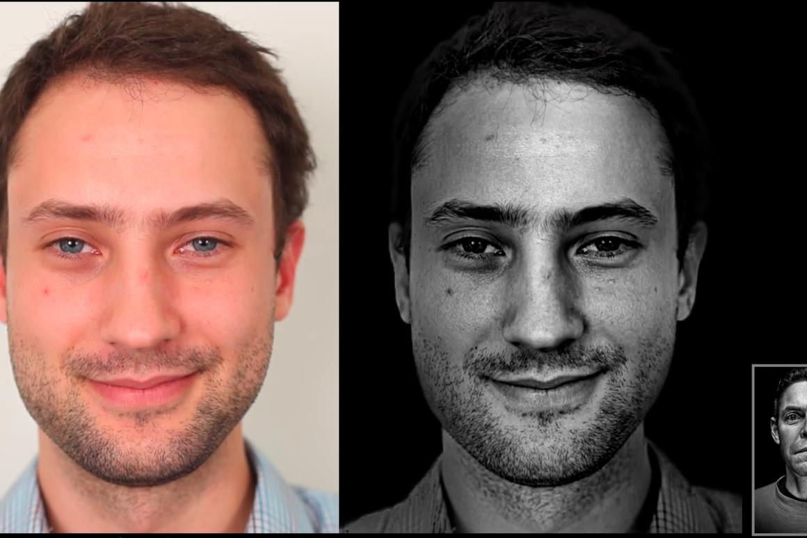 The MIT researchers developed an algorithm that gives standard portrait shots a professional studio feel