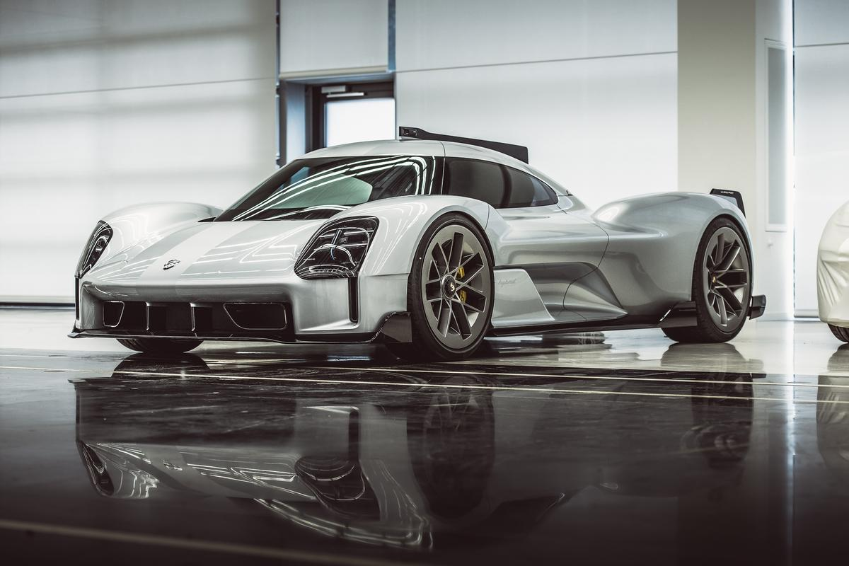 The Porsche 919 Street, a vision of a road-going Le Mans car